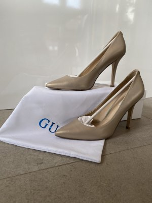 Guess High Heels gold-colored-beige