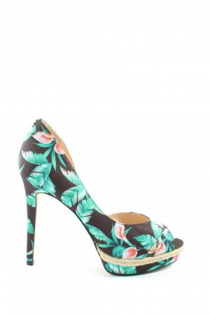 Guess High Heels Allover-Druck Casual-Look