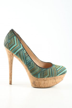 Guess High Heels allover print extravagant style