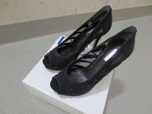 Guess High Heels, Pumps, schwarz Rauleder, NEU, Gr. 37