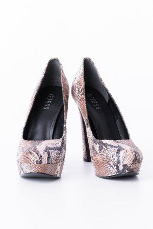 GUESS - High Heels Reptilien-Look