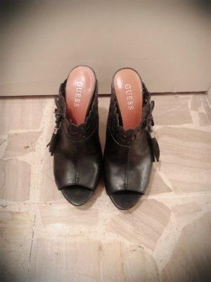 Guess Platform Sandals black