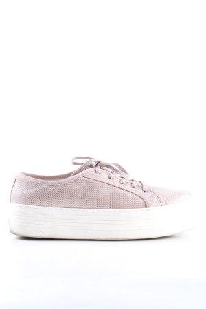 Guess High Top Sneaker pink-weiß Casual-Look