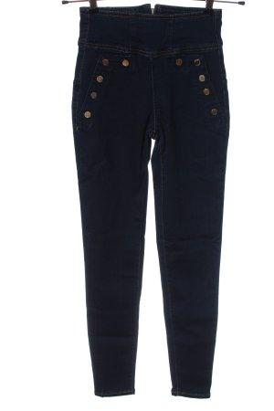 Guess Jeansy z wysokim stanem niebieski W stylu casual