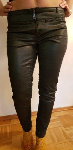 Guess pantalón de cintura baja color plata Licra