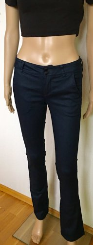 Guess Lage taille broek donkerblauw