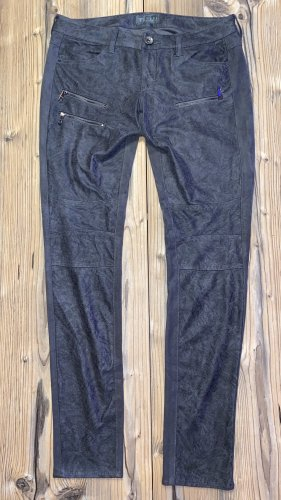 Guess Lage taille broek antraciet