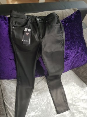 Guess by Marciano Leather Trousers black