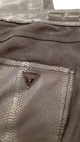 Guess Pantalón de tubo negro