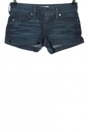 Guess Hot Pants blau Casual-Look