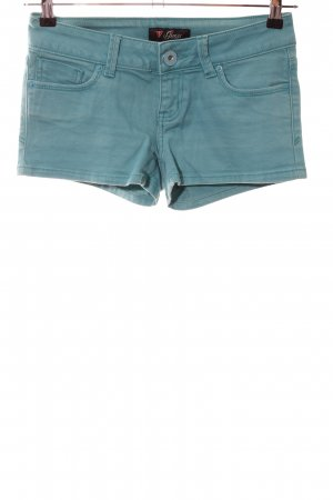 Guess Hot Pants türkis Casual-Look