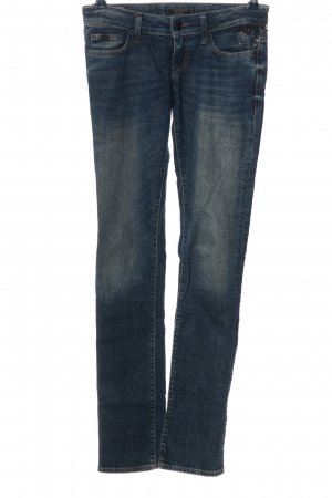 Guess Low Rise jeans blauw casual uitstraling
