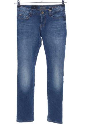 Guess Jeans taille basse bleu style décontracté