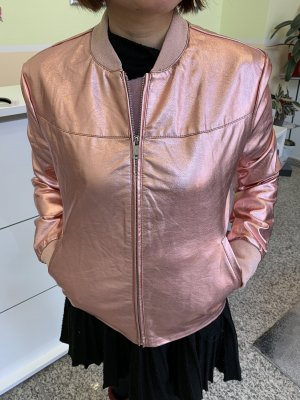 Guess Bomber Jacket rose-gold-coloured