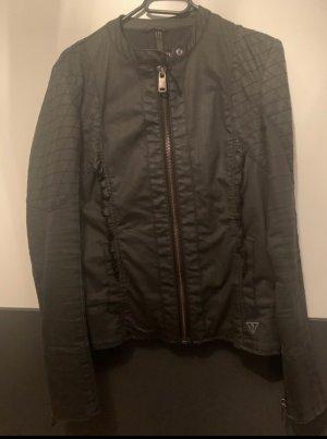 Guess Biker Jacket black-anthracite