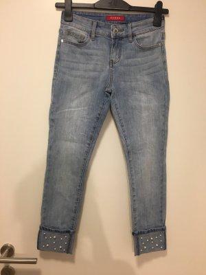 Guess Jeans 7/8 bleu pâle