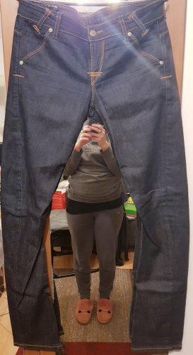 Guess Jeans cigarette bleu foncé
