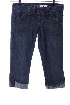 Guess Jeans 3/4 Jeans blau Casual-Look