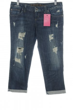 Guess Jeans 3/4 Jeans dunkelblau Casual-Look