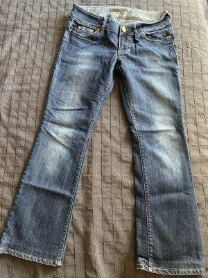 Guess Jeans vita bassa blu scuro