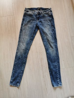 Guess Tube jeans blauw