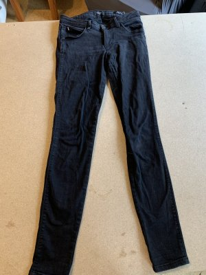 Guess Jeans Curve X Skinny Mid Schwarz Gr 29