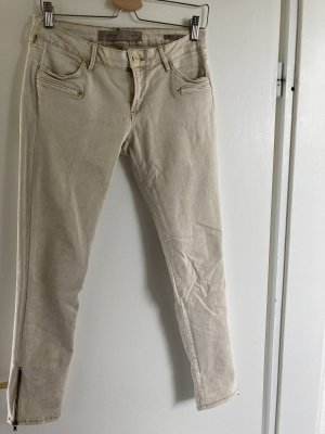 Guess Low Rise Jeans oatmeal-cream
