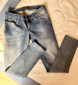 Guess Jeans skinny blu pallido