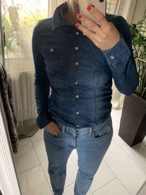 Guess Jeansowa koszula Wielokolorowy