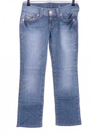 Guess Jeans Hüftjeans blau Casual-Look