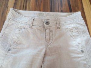 Guess Jeans in beige, 7/8 Länge, Chinos, Gr. 27, extrem lässig, wie neu