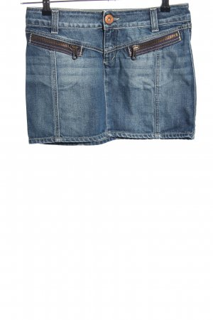 Guess Jeans Jeansrock blau Casual-Look