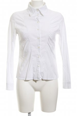 Guess Jeans Camisa de manga larga blanco estilo «business»
