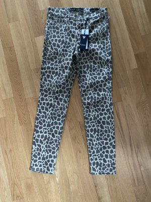 Guess Jeans Leo Leopard Skinny Jeans 27 M