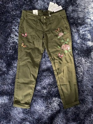 Guess 7/8 Length Jeans green grey cotton