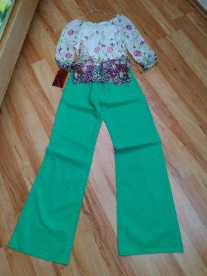 Guess Jeans Pantalón de campana verde claro-verde