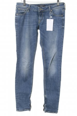 Guess Jeans Vaquero skinny azul celeste look Street-Style