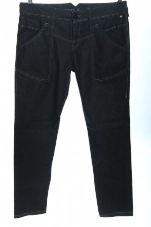 Guess Jeans Straight-Leg Jeans schwarz Casual-Look