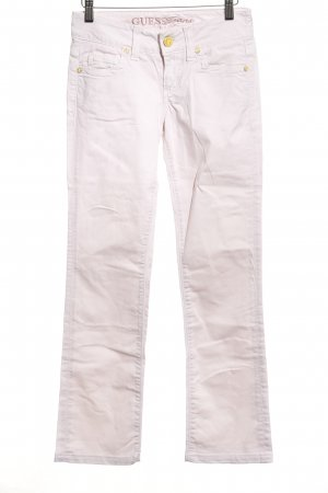 Guess Jeans Vaquero rectos rosa look casual