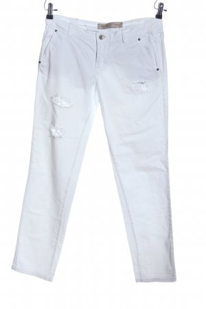 Guess Jeans Stretch broek wit casual uitstraling
