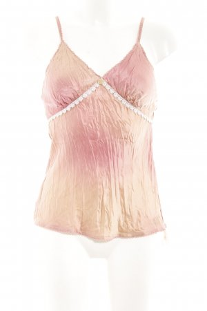 Guess Jeans Top de tirantes rosa-color rosa dorado reluciente