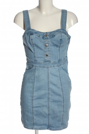 Guess Jeansowa sukienka niebieski W stylu casual