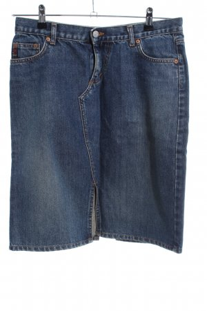 Guess Jeansrock blau Casual-Look