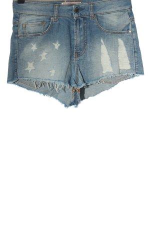 Guess Short en jean bleu style décontracté