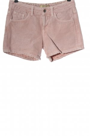 Guess Short en jean rose moucheté style décontracté