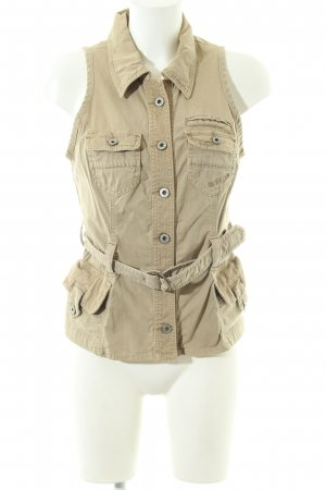 Guess Jeansweste wollweiß Casual-Look