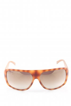 Guess Karée Brille braun-hellorange Allover-Druck Party-Look