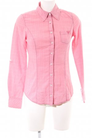 Guess Karobluse pink Karomuster Casual-Look