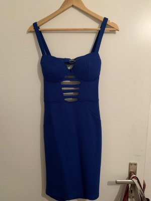 Guess Vestido cut out azul