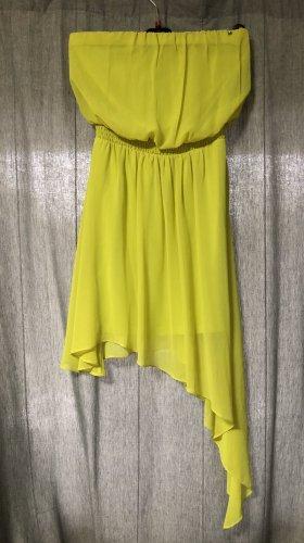 Guess Robe bustier jaune citron vert